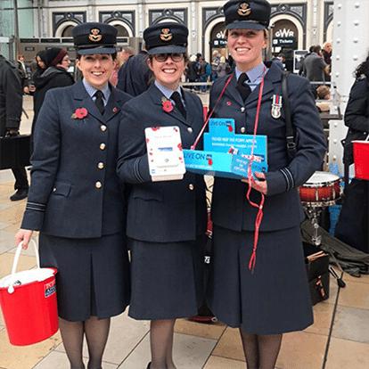 Royal British Legion Contactless Fundraising