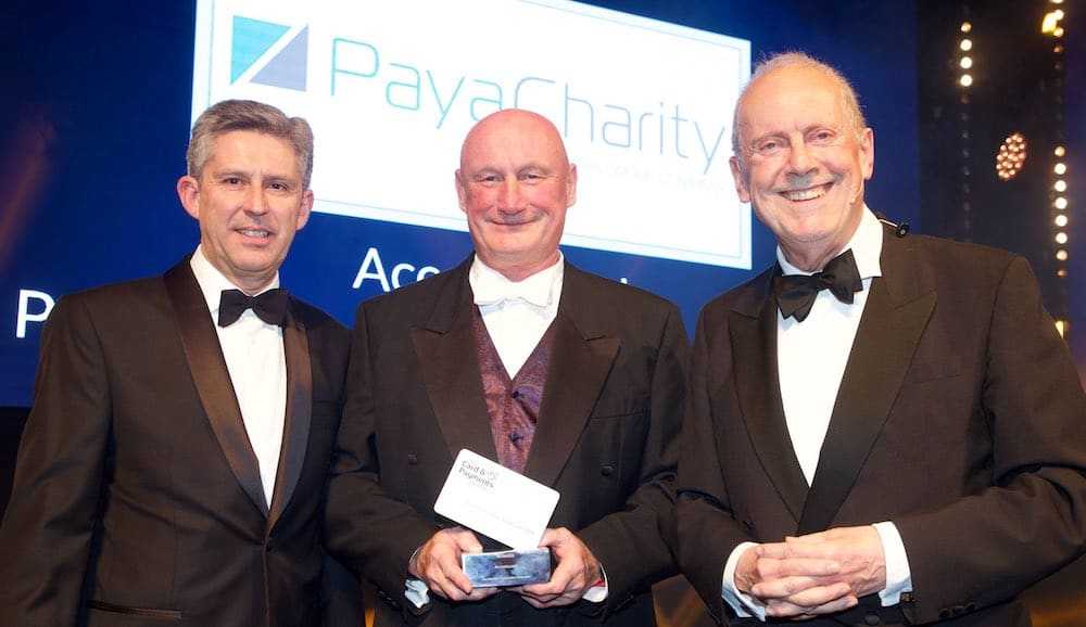 PayaCharity starts 2019 with industry recognition at the Card & Payment Awards
