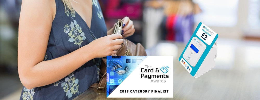 PayaCharity shortlisted for prestigious 2019 Card & Payment Awards